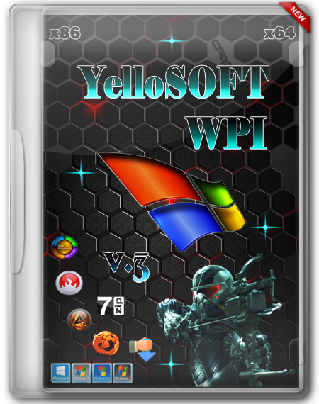 YelloSOFT WPI the v.3 (x86/x64/RUS/2013)