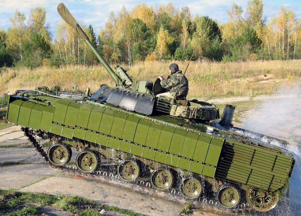BMP-3 in Russian Army CWywT