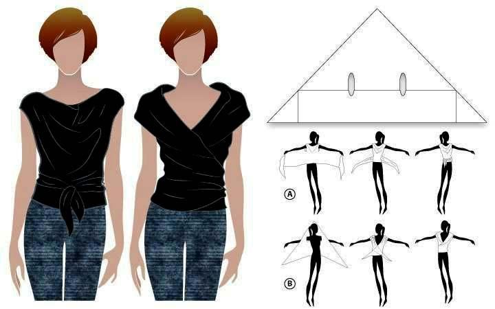 Вязание крючком топы кофты блузки блоги дневники - Master class