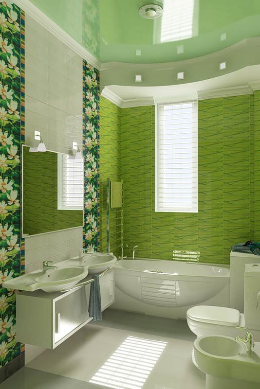 дизайн в ванной комнате