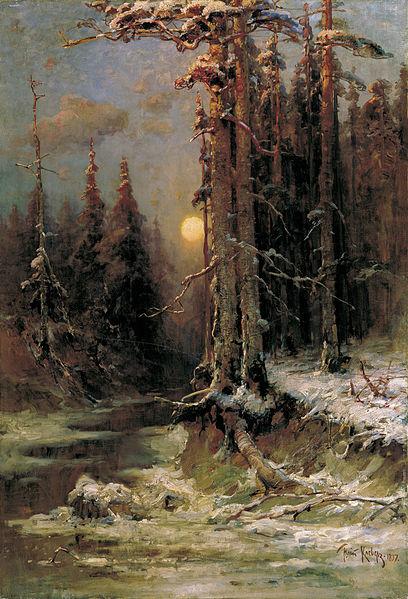 Автор: Юлий Юльевич Клевер.  Работа добавлена: 2006-03-13 21:01:21 Родственные категории. дерево. ночь...