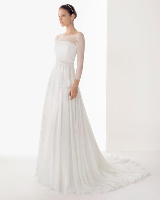 Платье прямое с рукавами фото 3