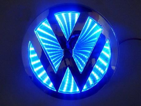СВЕТОДИОДНАЯ ПОДСВЕТКА ЭМБЛЕМЫ ЛОГОТИПА Volkswagen (3798914969) - купить на торговой площадке,интернет-аукционе Молоток.Ру