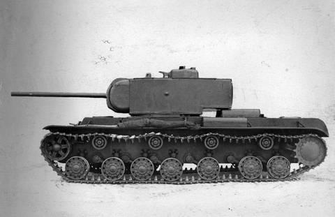 Т-220 («Объект 220», КВ-220, КВ-4) - опытный тяжёлый танк Os3Zl