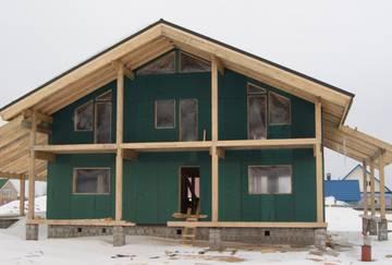 Строительство и утепление каркасного дома