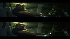 Прoметей в 3Д / Prоmetheus 3D (2012) BDRip 1080p / 7.63 Gb [Half OverUnder / Вертикальная анаморфная стереопара]
