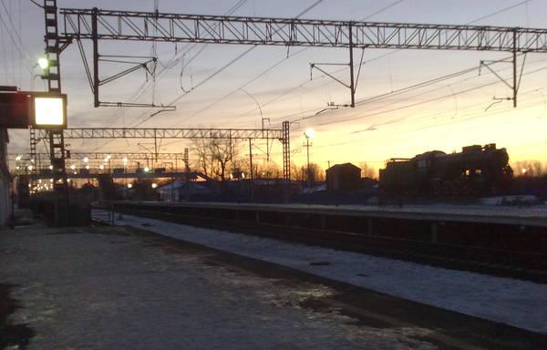Станция Петушки. Раннее утро