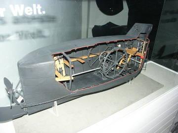 Подводный корабль с балластными